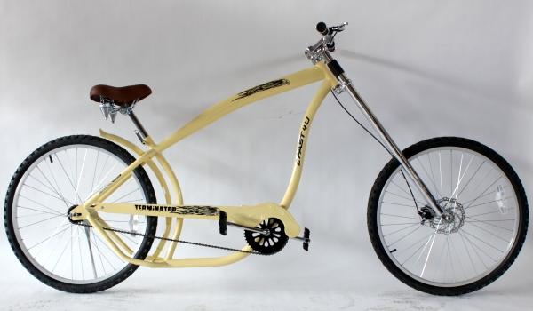 beachcruiser lowrider beach cruiser chopper fahrrad creme. Black Bedroom Furniture Sets. Home Design Ideas
